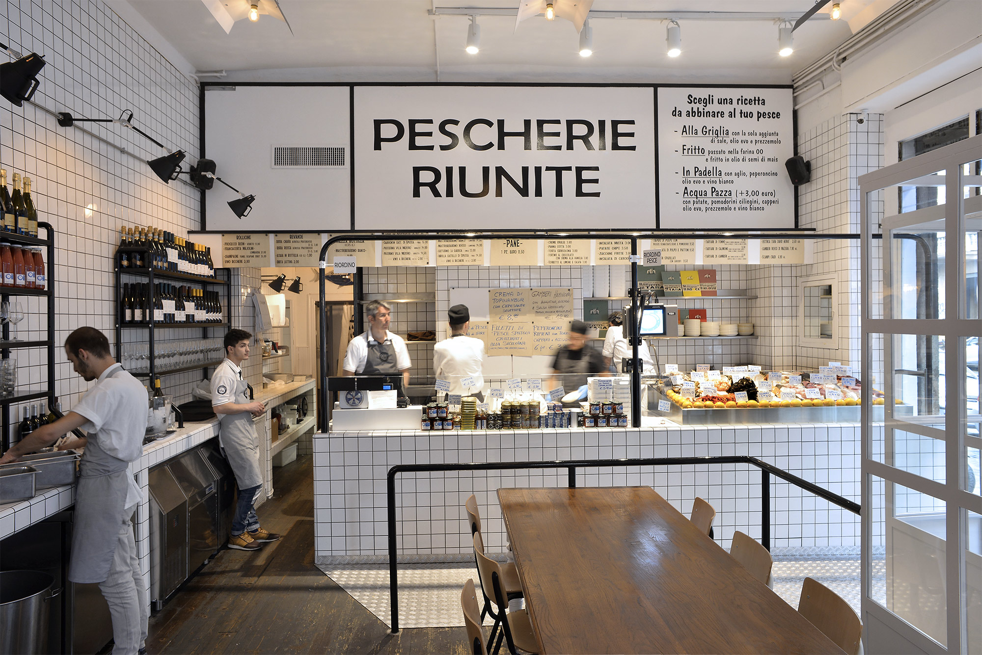 Pescherie Riunite – C.so Colombo