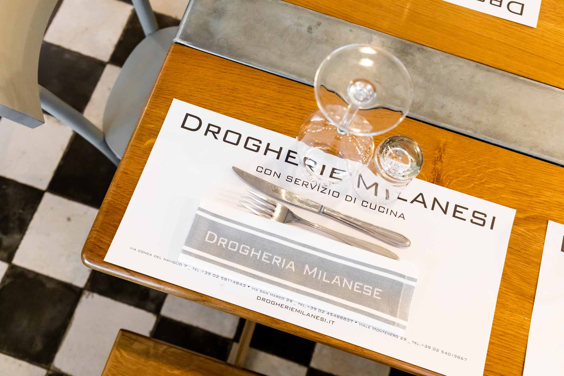 Drogheria Milanese – Monte nero